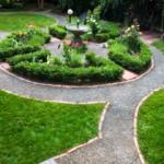 Дорожки – главная изюминка собственного сада
